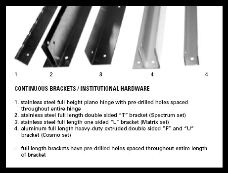 Brackets - Laminating Technologies A Division of YTI Enterprises, Inc.